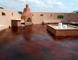 Terra Cotta, Wood Burning Oven Outdoor Fireplaces Hawkeye Custom Concrete Sand Springs, OK