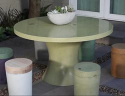 Outdoor Table, Dfrc Outdoor Furniture Concrete Exchange Concord, CA