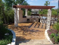 Outdoor Kitchens Exquisite Concrete Designs College Station, TX