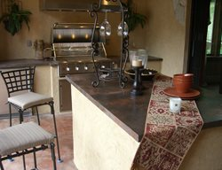 Natural, Brown Outdoor Kitchens Michael Rogers Studios Salem, OR