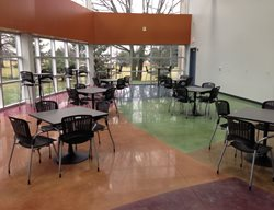 Color Blocking, Cafeteria Polished Concrete L&A Crystal Mequon, WI