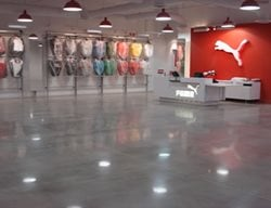 High Gloss, Gray Polished Concrete Rockerz, Inc Warrendale, PA