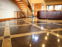 Living Room Floor, Polished Concrete Polished Concrete Floriartisan LLC Spokane Valley, WA