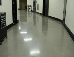 Polish, Hall Way Polished Concrete Total Polish Solutions Knoxville, TN