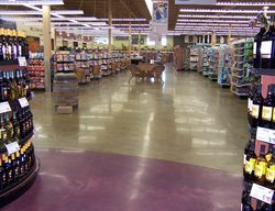 Polished Concrete Floor, Commercial Concrete Floor Polished Concrete Concrete Treatments Inc Albertville, MN