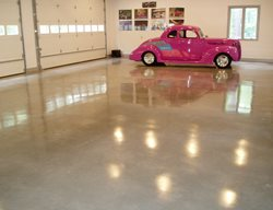 Polished Concrete, Polished Garage Floor, Concrete Polished Concrete Deco-Crete, LLC Richmond, VA