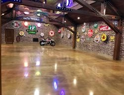 Polished Garage, Car Showroom Polished Concrete Infinity Concrete Coatings Newport Beach, CA