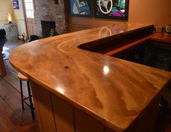 Bar Two Site Liquid Stone Concrete Designs LLC Warminster, PA