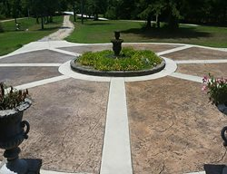 Stamped Driveway, Circle Drive Site PennyEarned, LLC Montgomery, AL