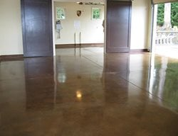Stained Concrete, Concrete Flooring Stained Concrete KBV Concrete Design Rochester Hills, MI