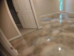 Stained Concrete, Concrete, Stained Concrete Floor, Stained Concrete Bedroom Floor, Bedroom Floor,  Stained Concrete 360 Solutions LLC Knoxville, TN
