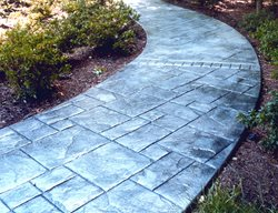 Stone, Winding Stamped Concrete AMCON, LLC Gaithersburg, MD