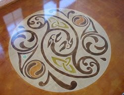 Stenciled Flooring Floor Seasons Inc Las Vegas, NV