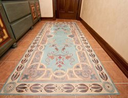 Stenciled Flooring Modello Designs Chula Vista, CA