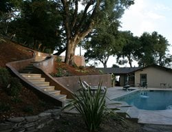 Colored Concrete Retaining Walls Steps and Stairs Tom Ralston Concrete Santa Cruz, CA