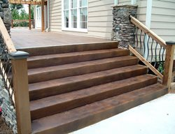 Concrete Stairs Steps and Stairs Concrete Aesthetics, LLC Talking Rock, GA