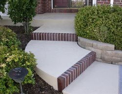 Concrete Steps, Concrete Stairs, Curb Appeal, Concrete, Decoative Concrete Steps and Stairs Shades of Color, Inc. Littleton, CO