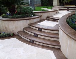 Concrete Treads, Concrete Stairs Steps and Stairs Goldenwest Epoxy Costa Mesa, CA