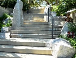 Forming Concrete Stairs Steps and Stairs Feldman Architecture San Francisco, CA