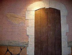 Fossil, Doorway Vertical Stamping FossilCrete Phoenix, AZ