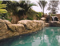 Concrete Rock, Concrete Rock Wall Water Features Authentic Environments Huntington Beach, CA