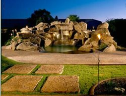 Waterfall, Spa Water Features Progressive Hardscapes Phoenix, AZ