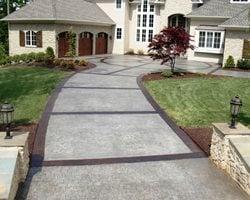 Award Winning Stamped Concrete Driveway Concrete Patios Greystone Masonry Inc Stafford, VA