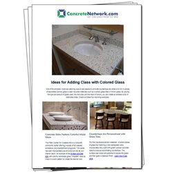 Countertops Concrete Patios ConcreteNetwork.com ,