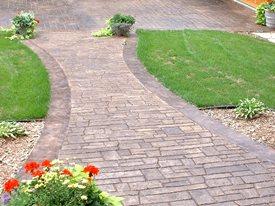 Natural, Brick Concrete Floors Verlennich Masonry and Concrete Staples, MN