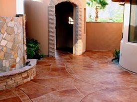 Concrete Patios Nanolia Palm Desert, CA