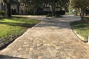 Pavers, Trees, Driveway Concrete Pavers Paver King Lake Mary, FL
