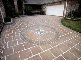Concrete Driveways Imagine It Designs Brenham, TX