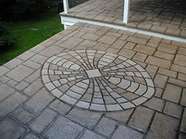 Concrete Patios Stamped Concrete Patio Unique Concrete West  Milford, NJ