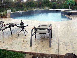 Concrete Pool Decks Concrete by Design Springboro, OH