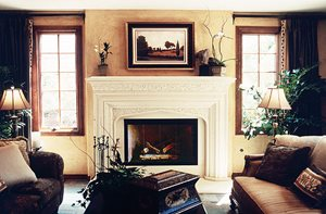Fireplace Surrounds Sierra Concrete Design, Inc.