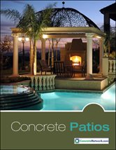 Concrete Patio Design Catalog