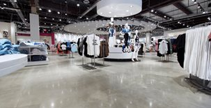 Clothing Store, Polished Concrete, Reflective Commercial Floors VR Polished Concrete Corpus Christi, TX