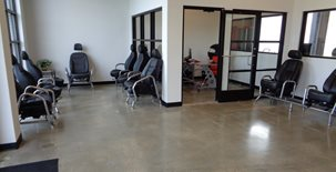 Lobby Floor, Polished Concrete Polished Concrete Haywood Floor Covering Inc. Gloucester, VA