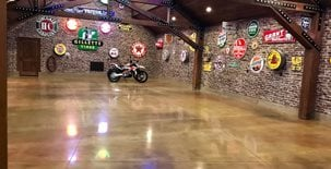 Polished Garage, Car Showroom Concrete Pool Decks Infinity Concrete Coatings Newport Beach, CA