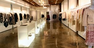 Retail Floor Commercial Floors Diversified Decorative Finishes Inc Brooklyn, NY