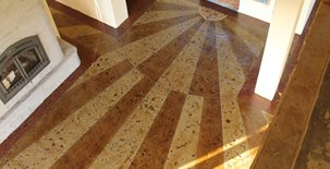 Sunburst Concrete Floors ALLSTAR Development LLC Dupont, WA