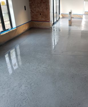 A Look At Icoat S One Day Stain The Concrete Network