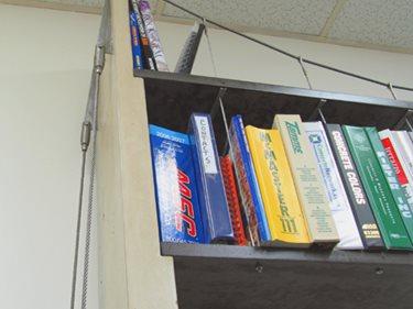Concrete Shelves, Suspension Shelves Concrete Furniture JM Lifestyles Randolph, NJ