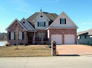 Brick, Concrete Home Concrete Homes RP Watkins, Inc. Omaha, NE