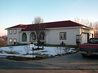 White, Concrete House Concrete Homes RP Watkins, Inc. Omaha, NE