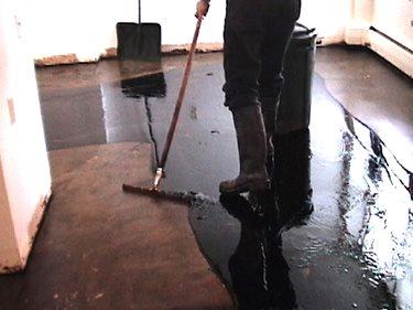 Black Asbestos, Mastic Remover Concrete Walkways Franmar Chemicals, Inc. Bloomington, IL