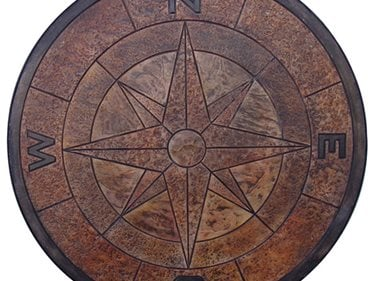 Compass Stamp, Concrete Compass Concrete Walkways Proline Concrete Tools Oceanside, CA