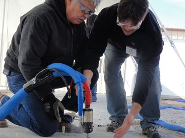 Concrete Walkways Hydraulic Mudpumps, Inc. Manitowoc, WI