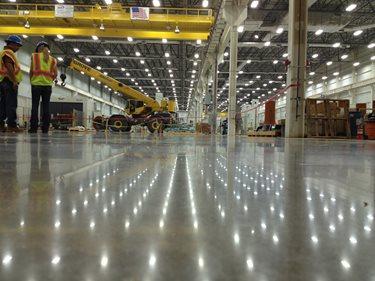 Polished Warehouse Floor Concrete Walkways Lavina ,