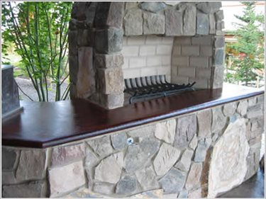 Concrete Walkways Riverstone Stamped Concrete Spokane, Washington